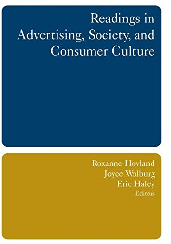 9780765615442: Readings in Advertising, Society, and Consumer Culture