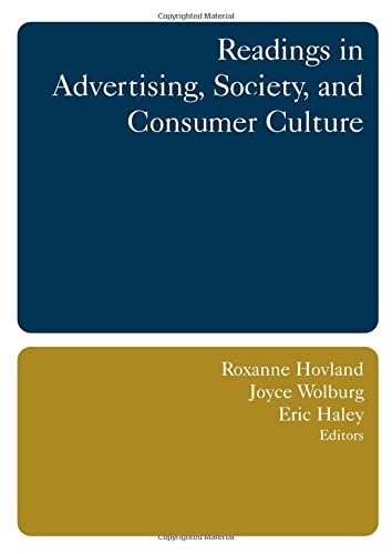 9780765615459: Readings in Advertising, Society, and Consumer Culture