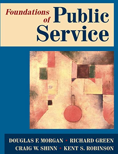 Foundations of Public Service: Douglas F. Morgan,