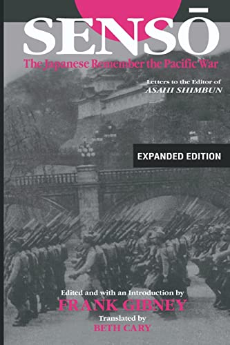 9780765616432: Senso: The Japanese Remember the Pacific War