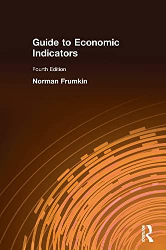 9780765616470: Guide to Economic Indicators