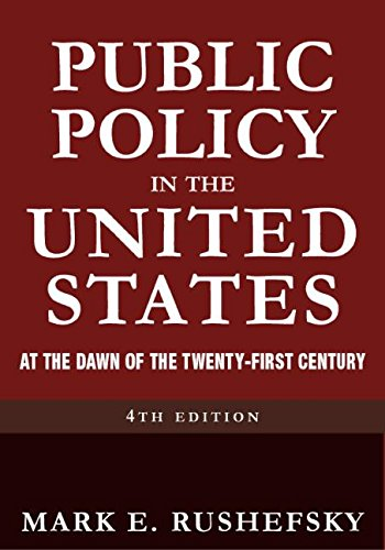 9780765616630: Public Policy in the United States: At the Dawn of the Twenty-first Century