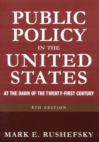 9780765616647: Public Policy in the United States: At the Dawn of the Twenty-first Century