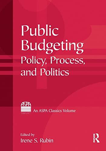 9780765616913: Public Budgeting (ASPA Classics (Paperback))