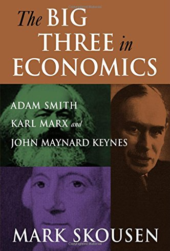 9780765616944: The Big Three in Economics: Adam Smith, Karl Marx, and John Maynard Keynes