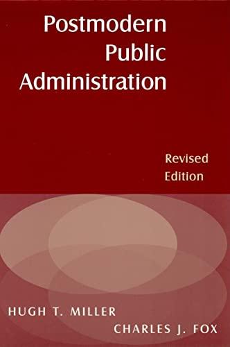9780765617057: Postmodern Public Administration