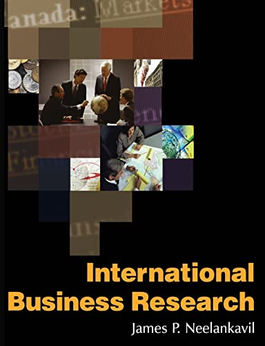 9780765617729: International Business Research