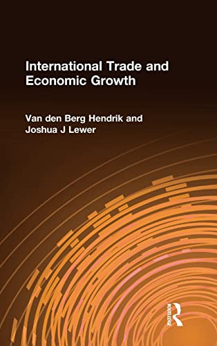 9780765618023: International Trade and Economic Growth