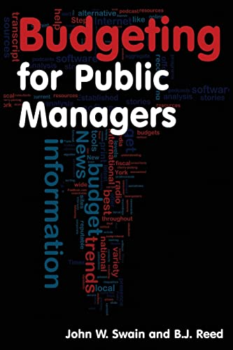 9780765620507: Budgeting for Public Managers