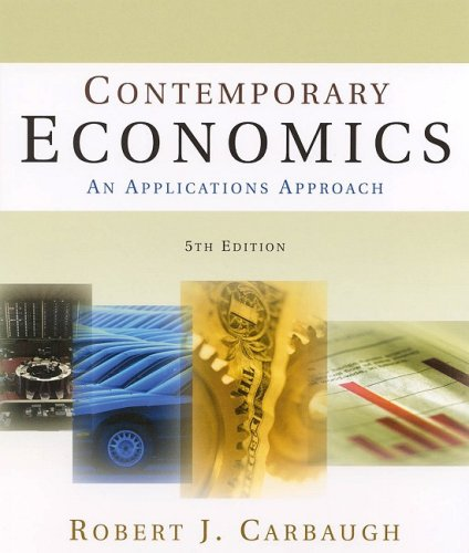 9780765620842: Contemporary Economics: An Applications Approach