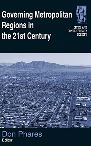 9780765620880: Governing Metropolitan Regions in the 21st Century (Cities and Contemporary Society)
