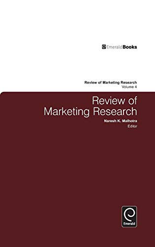 Review of Marketing Research (Volume 4): Malhotra, N K