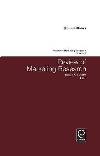 9780765621252: Review of Marketing Research: Volume 5
