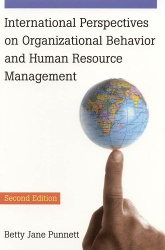 9780765621443: International Perspectives on Organizational Behavior and Human Resource Management
