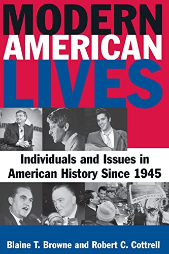 9780765622235: Modern American Lives: Individuals and Issues in American History Since 1945