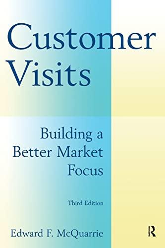 9780765622259: Customer Visits: Building a Better Market Focus