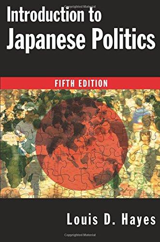 9780765622792: Introduction to Japanese Politics