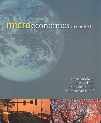 9780765623010: Microeconomics in Context