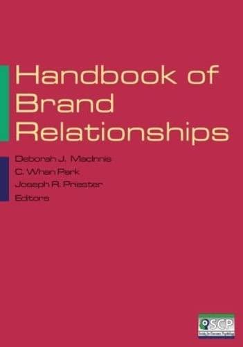 9780765623577: Handbook of Brand Relationships