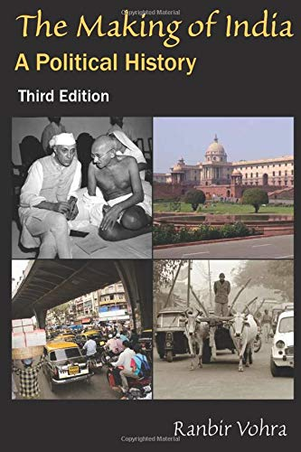 9780765623676: The Making of India: A Political History