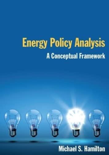 9780765623829: Energy Policy Analysis: A Conceptual Framework