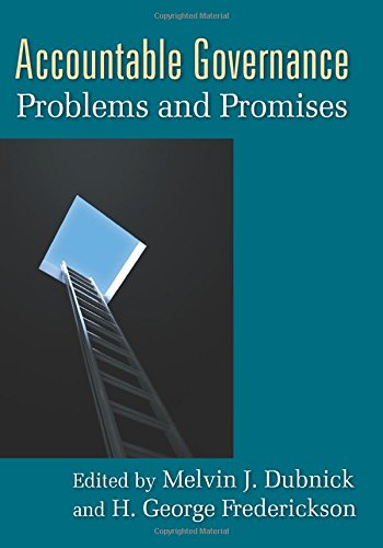 9780765623836: Accountable Governance: Problems and Promises