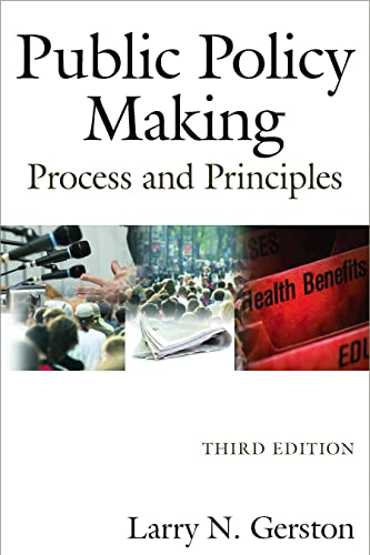 9780765625342: Public Policy Making: Process and Principles