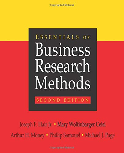 Essentials of Business Research Methods: Joseph F., Jr.