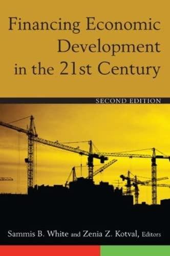 9780765627834: Financing Economic Development in the 21st Century