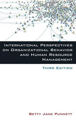 9780765631077: International Perspectives on Organizational Behavior and Human Resource Management