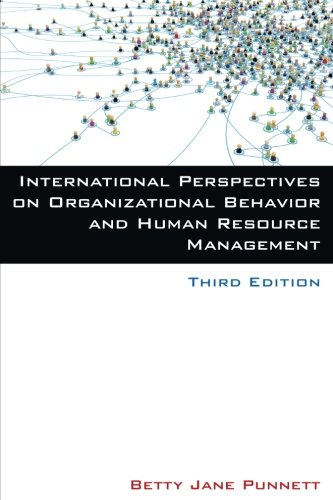 9780765631084: International Perspectives on Organizational Behavior and Human Resource Management