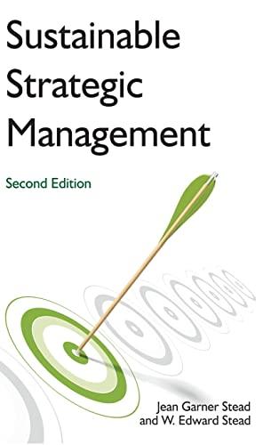 9780765635440: Sustainable Strategic Management