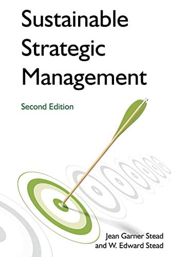 9780765635457: Sustainable Strategic Management