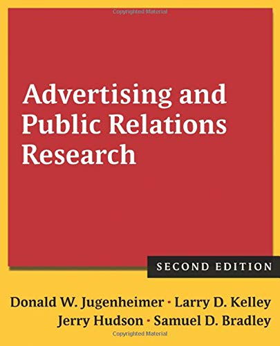 9780765636065: Advertising and Public Relations Research