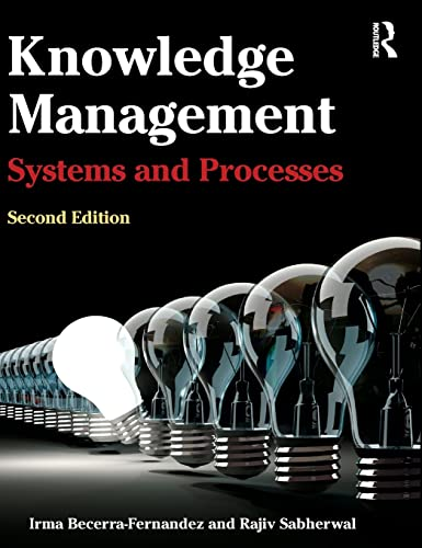 9780765639158: Knowledge Management: Systems and Processes