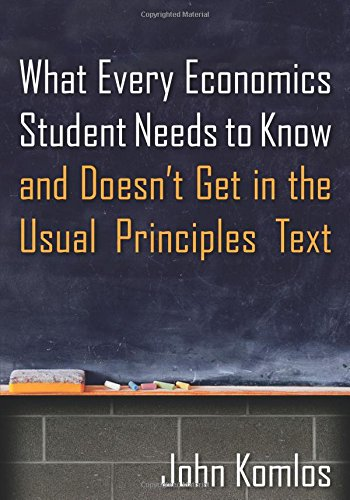 9780765639233: What Every Economics Student Needs to Know and Doesn't Get in the Usual Principles Text