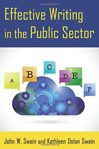 Effective Writing in the Public Sector (Paperback)