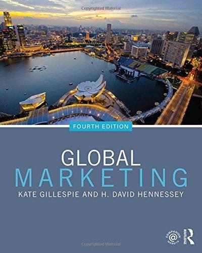 9780765642950: Global Marketing