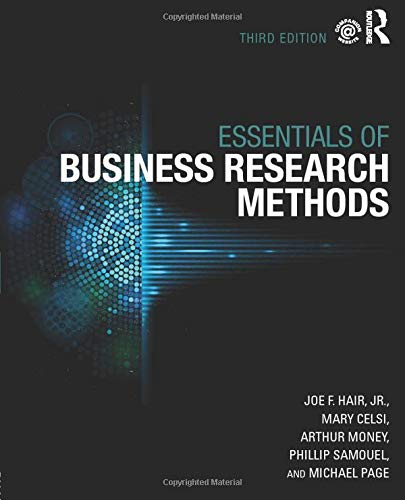 9780765646132: The Essentials of Business Research Methods