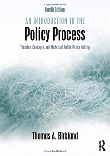 9780765646620: An Introduction to the Policy Process: Theories, Concepts, and Models of Public Policy Making