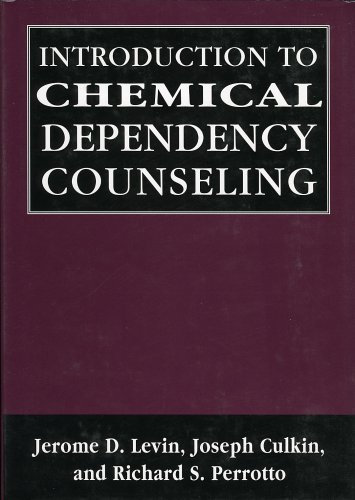 9780765702890: Introduction to Chemical Dependency Counseling (Library of Substance Abuse Treatment)