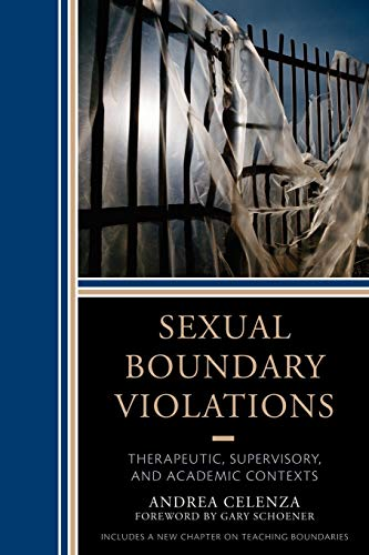 9780765708533: Sexual Boundary Violations: Therapeutic, Supervisory, and Academic Contexts
