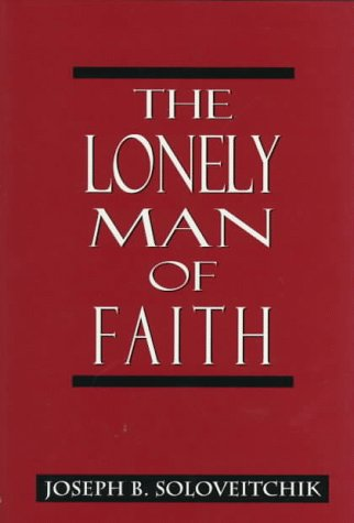 9780765759689: The Lonely Man of Faith