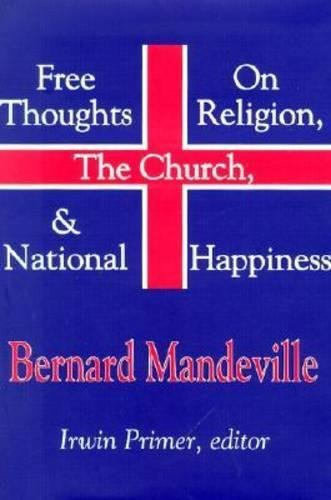 9780765800299: Free Thoughts on Religion, the Church, and National Happiness