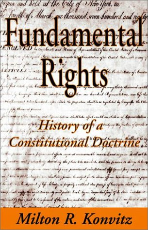 9780765800411: Fundamental Rights: History of a Constitutional Doctrine