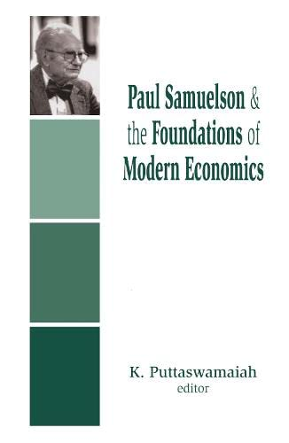 9780765801142: Paul Samuelson and the Foundations of Modern Economics
