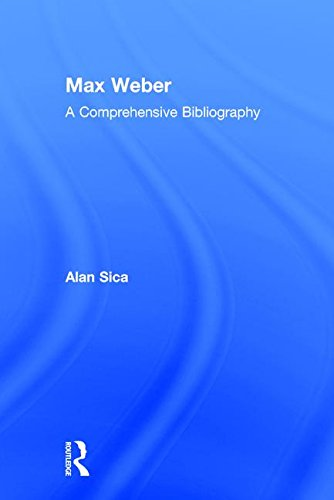 9780765802095: Max Weber: A Comprehensive Bibliography