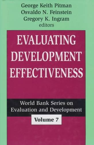 9780765802545: Evaluating Development Effectiveness (World Bank Series on Evaluation & Development)