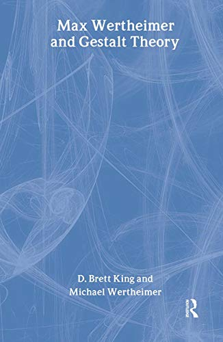 9780765802583: Max Wertheimer & Gestalt Theory