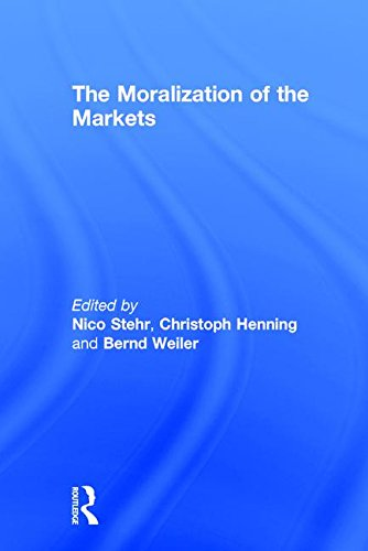 9780765803153: The Moralization of the Markets